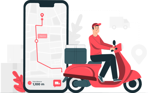 delivery driver app